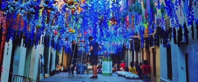 Праздник квартала Грасиа, Барселона (15-21 августа)